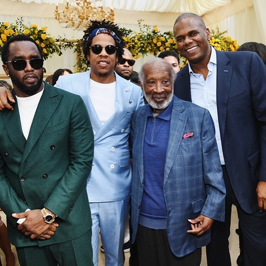 Image result for The Black Godfather Clarence Avant the original Influencer